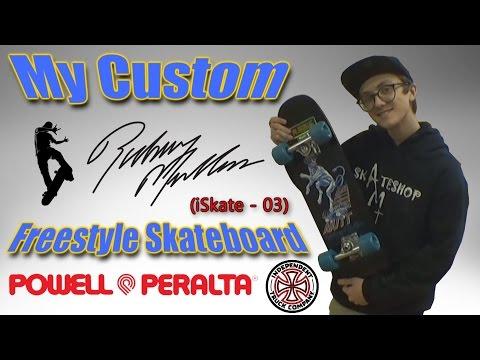 Anthony's 80's Powell Peralta Rodney Mullen Mutt Freestyle Skateboard (iSkate - 03)