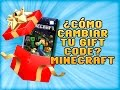 CÓMO CANJEAR GIFT CODE MINECRAFT | REDEEM GIFT CODE