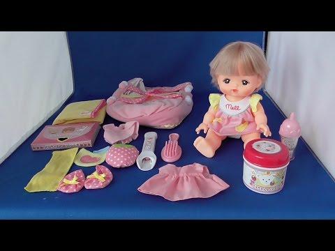 Baby  Doll   Child Care 10-piece Set メルちゃん おせわ10点セット