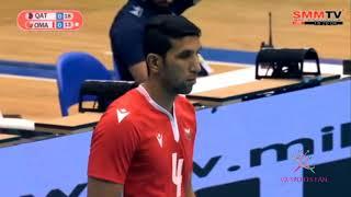 รัฐสุลต่านโอมาน - กาตาร์ Qatar - Oman : ศึกวอลเล่ย์บอลชาย ชิงแชมป์เอเชีย 2019 * Asian Championship