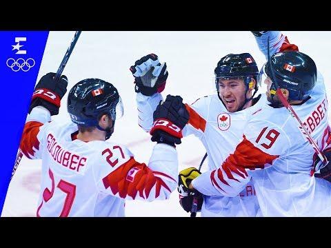 Ice Hockey | Canada v Czech Republic | Men's Bronze Medal Game | Pyeongchang 2018 | Eurosport