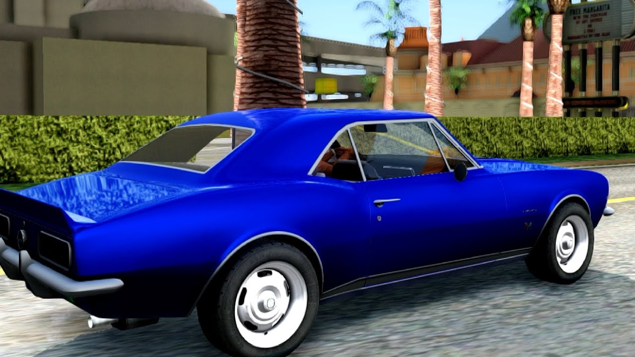 1969 Chevrolet Camaro - GTA San Andreas - YouTube