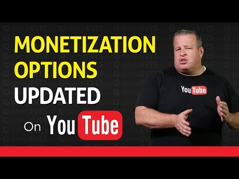 YouTube Monetization Options Section Updated