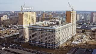 ЖК «Жулебино парк»,  Московская обл., Люберцы, март 2020