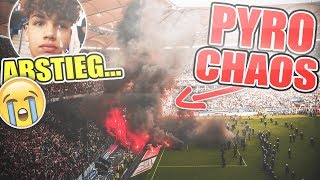 DIE letzten SEKUNDEN VOM HSV!! | Stadion Vlog HSV - Mönchengladbach | Marlon