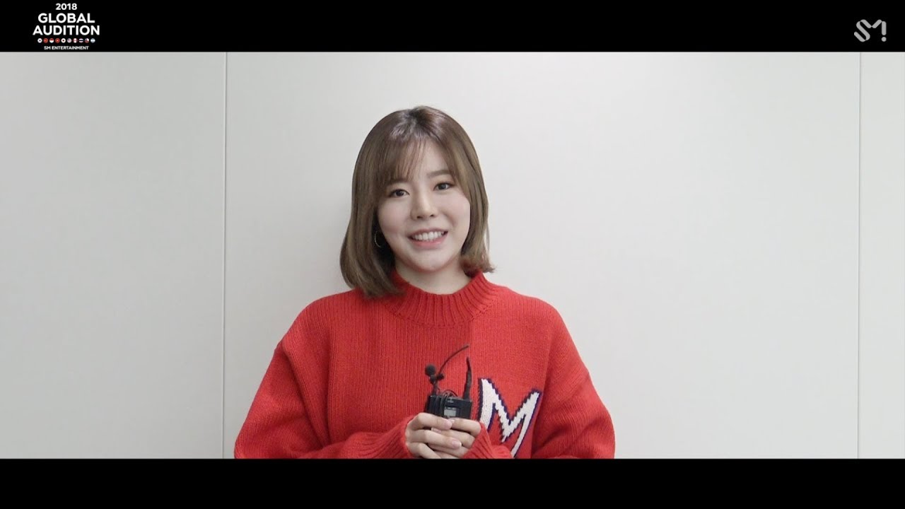 [MESSAGE FROM SUNNY] 2018 S M  GLOBAL AUDITION
