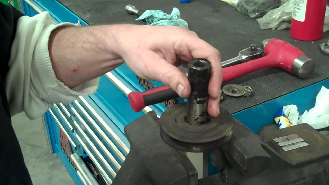 22R / 22RE installation tips: power steering idler bearing ...