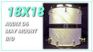 18x18 Hybrid Floor Tom HD Sound Sample