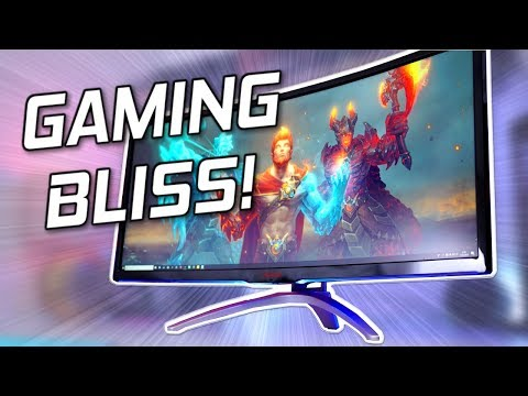 AOC AGON AG352UCG Review - The 100hz Ultrawide Gaming Monitor!