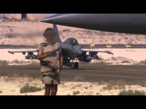 Les avions de chasse français dans l'opération Chammal
