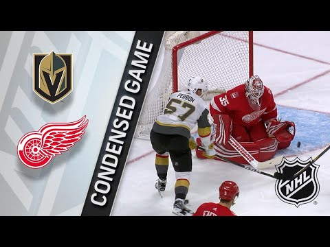 03/08/18 Condensed Game: Golden Knights @ Red Wings
