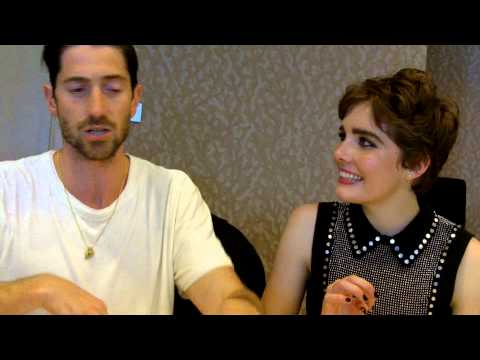 SDCC 2015:  Salem  Iddo Goldberg and Elise Eberle Isaac Walton, Mercy Lewis