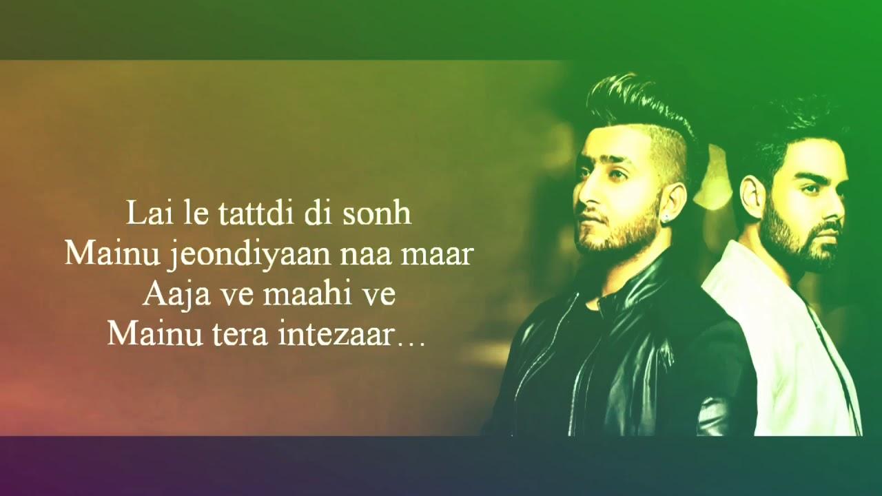 zindagi tere naal khan saab pav dharia full songs lyrics latest punjabi songs youtube