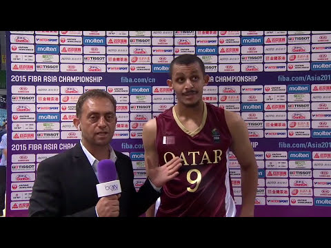 Mizo Amin - FIBA - Asian Championship Qatar vs Lebanon  Offensive Highlights (2015)