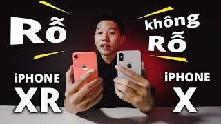 20 TRIỆU MUA iPHONE X HAY iPHONE XR?? - MÌNH CHỌN iPHONE X!!!