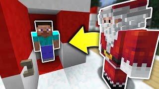 HIDING FROM SANTA! |  HIDE N' SEEK! - Minecraft Mods