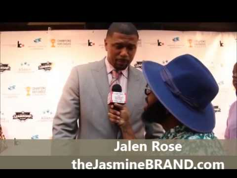 Jalen Rose on FOX Replacing Pam Oliver & Advice For Rookies