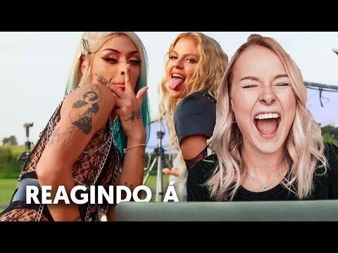 REAGINDO À YOYO GARUPA E BRISA Luisa Sonza e Pablo Vittar - Gloria Groove e Iza