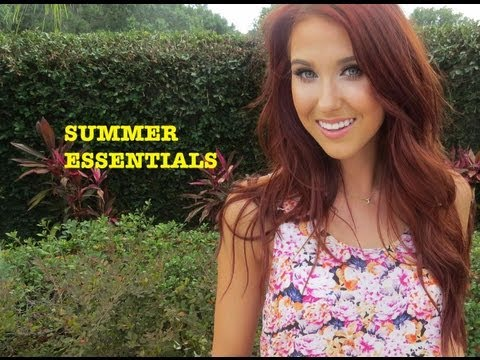SUMMER ESSENTIALS ♡ | Jaclyn Hill