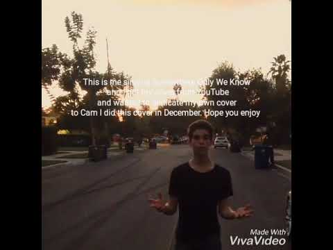 Cameron Boyce (Somewhere Only We Know)