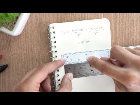 How to Scale Without a Scale Ruler