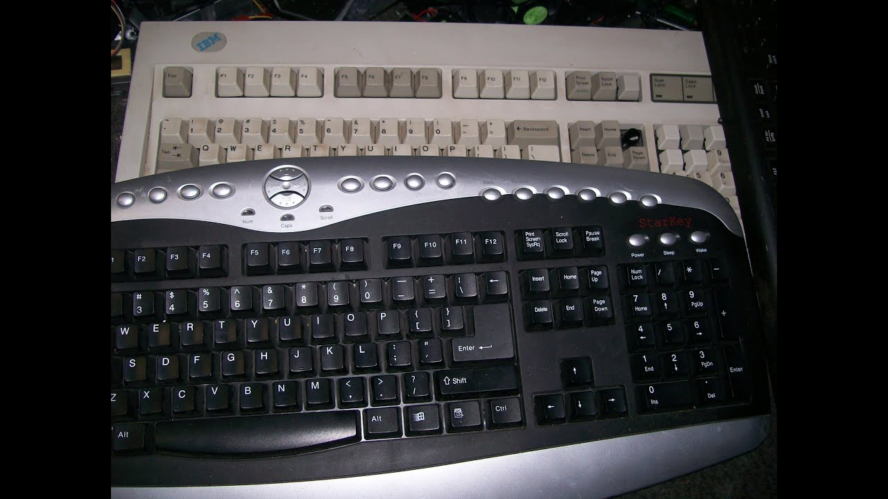 Keyboard Mylar for Silver Recovery