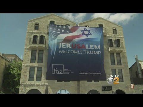 Israel Prepares For Trump Visit