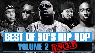90's Hip Hop Mix #02 [Uncut] Best of Old School Rap Songs Throwback Rap Classics Westcoast Eastcoast
