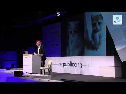 re:publica 2013 - Sascha Lobo: Überraschungsvortrag II on YouTube
