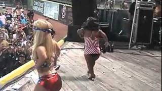 "Lady Gaga and Beyonce ""Telephone"" perform by midgets"