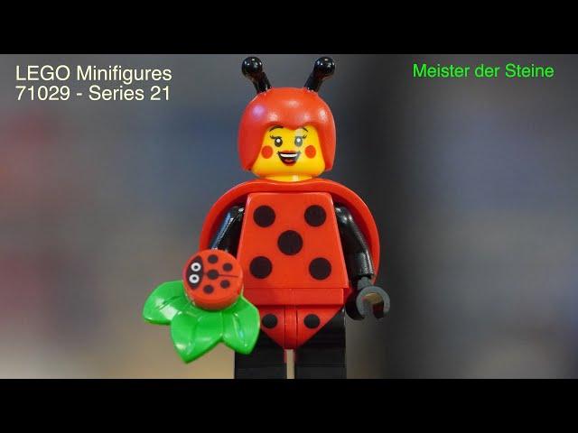 Lego, minifigures, SERIES 21, Meister der Steine