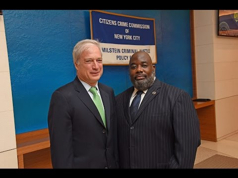 ATF-NY Special Agent in Charge Delano Reid presents to the Citizens Crime Commission of NYC