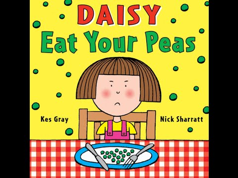 Read Aloud - Eat Your Peas - Children's Book - by Kes Gray