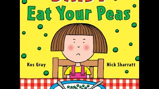 Read Aloud - Eat Your Peas - Children's Book - by Kes Gray thumbnail