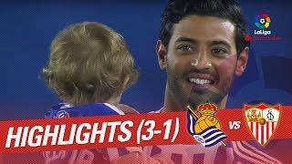 Resumen de Real Sociedad vs Sevilla FC (3-1)