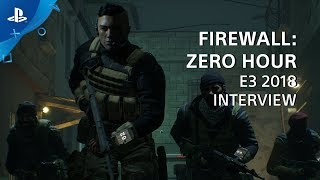 Firewall: Zero Hour Interview | PS VR at E3 2018