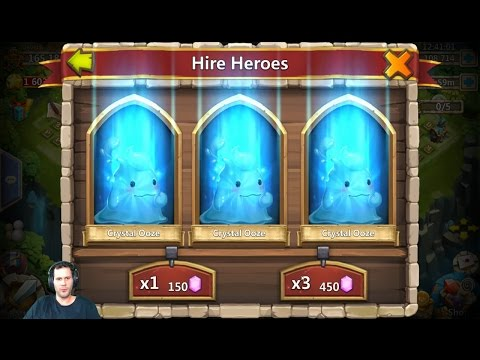 Rolling 120,000 Gems For Anubis NEW Hero Android Castle Clash
