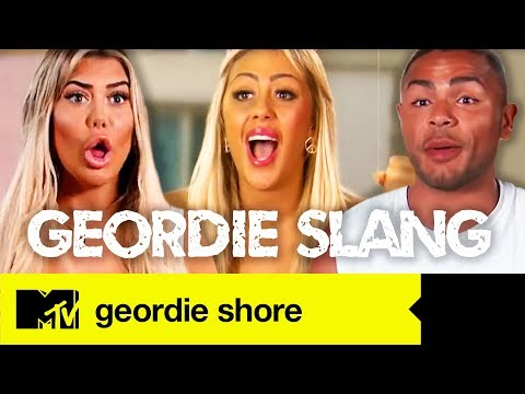 The Geordie Slang | Geordie Shore