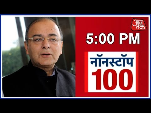 Non-stop 100: Arun Jaitley Takes Charge As Defence Minister