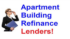 Apartment Building Refinancing - 972-715-1618