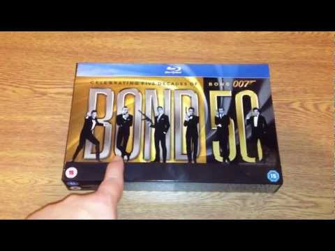 Bond 50 the james bond 22 Blu-ray movie...