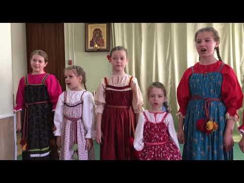 Пасхальный праздник в Троицком соборе г. Щелково. Видео 13