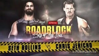 Roadblock End of the Line Official Match card