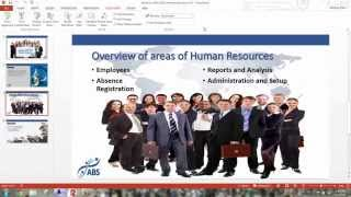 Microsoft Dynamics NAV 2015 Human Resources Functionality by ABS, LLC.