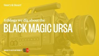 Blackmagic Ursa Review [4k]