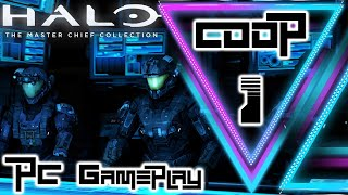 MCC Halo Reach/Back To The Good Old Days!/Co-op/PC Gameplay/ PART 1