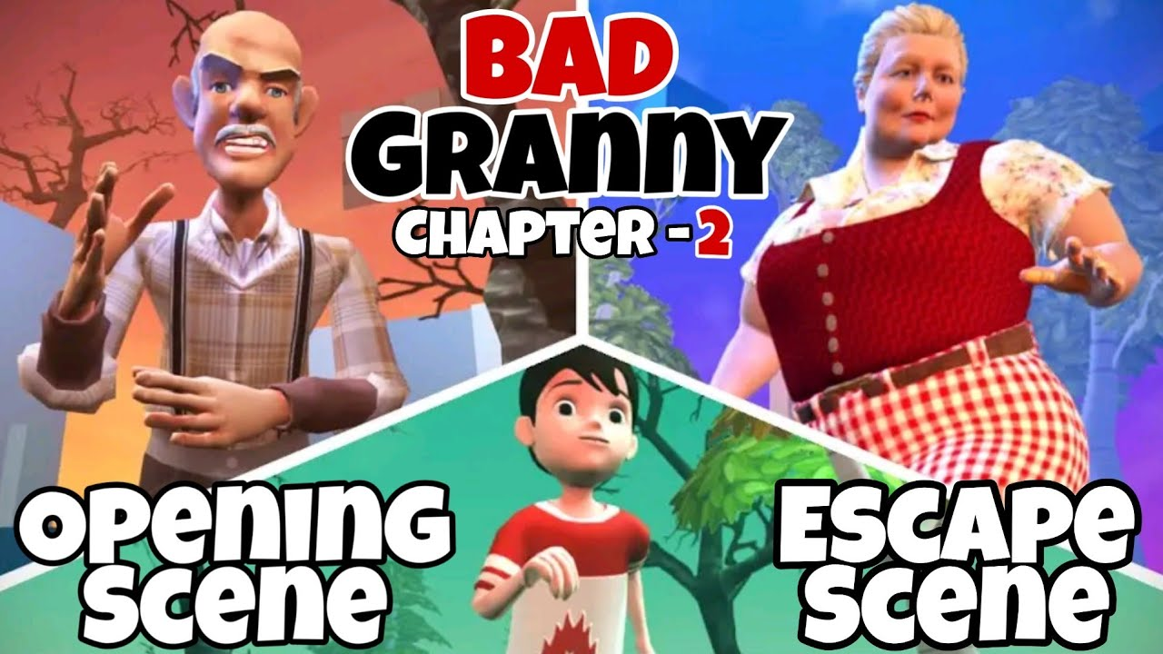 Bad Granny Chapter 2 (Act 1) Opening Scene + Escape Scene | by TryFoot Studios