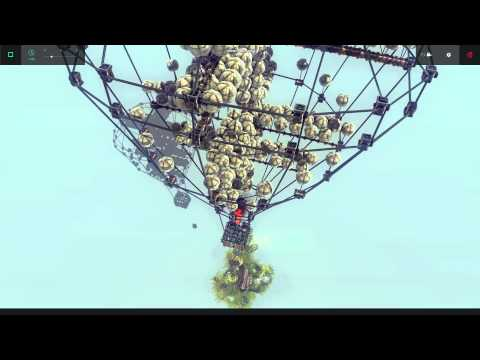 Full download besiege hot air balloon bomber by besiegeer for Air balloon games