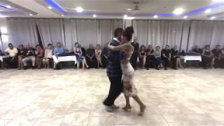 Ainara y Massimo Duerme mi amor - Carlos Di Sarli - Horacio Casares.    9° Encuentro ISLA 2018