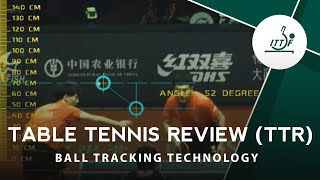 INTRODUCING Table Tennis Review (TTR)! - Ball tracking technology